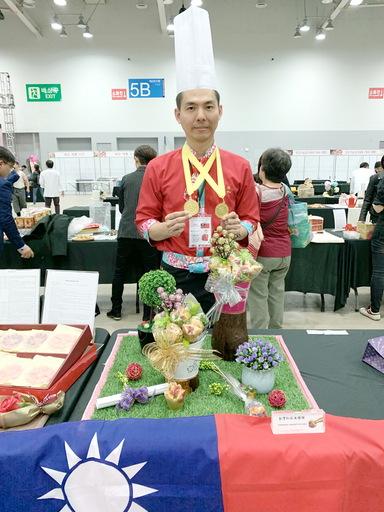 中臺科大呂哲維老師觀光伴手禮金牌