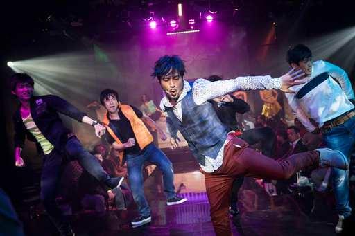 躍演中文音樂劇《DAYLIGHT》劇照-左起演員黃奕豪、顏志翔、高華麗等人,躍演提供