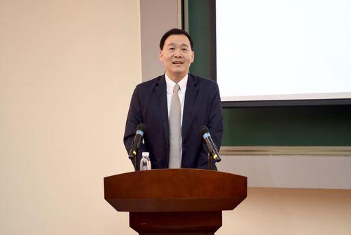 中金院施光訓校長表示,金融科技對經濟發展有重要意義,中國人民大學蘇州校區於發展金融風險管理學科已有許多成果,期盼未來能強化兩校合作,促進學術交流。