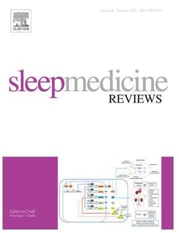 「睡眠醫學評論」國際期刊。