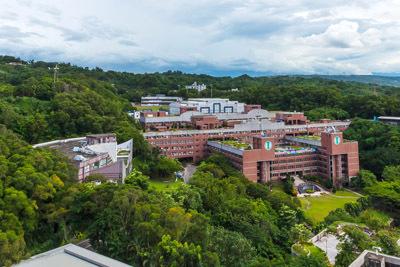 大葉大學座落於參山國家風景區,校園與自然環境共生