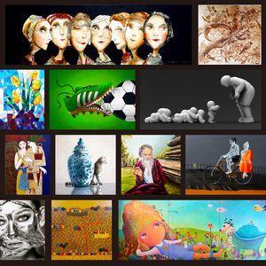 「2020國際藝術家大獎賽」計有4,337件作品競逐桂冠。