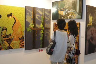 「2020國際藝術家大獎賽」入圍作品將於2020年5/22~5/25「第十屆台北新藝術博覽會」中展出。