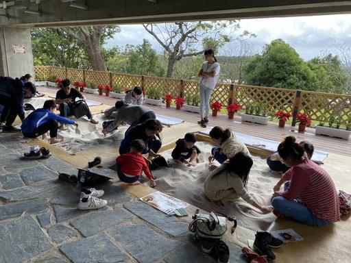 卑南遺址公園考古學習教室考古沙坑發掘區