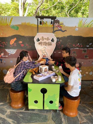卑南遺址公園考古學習教室小小修復師陶器拼圖區