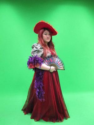 陳芷婷同學曾擔任大葉大學英語系畢業公演女主角