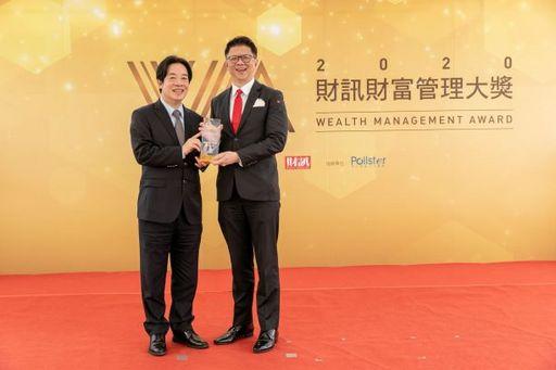 星展銀行(台灣)總經理林鑫川出席領獎。