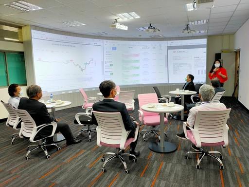 委員訪視教學設施─高資產財富管理服務中心