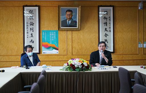 下村作次郎是應文大校長徐興慶之邀,擔任文大東亞人文社會科學研究院「華岡東亞講論會」首場講論會主講人
