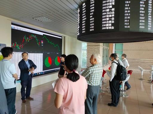教學訪視及參觀教學設施─AI金融科技中心