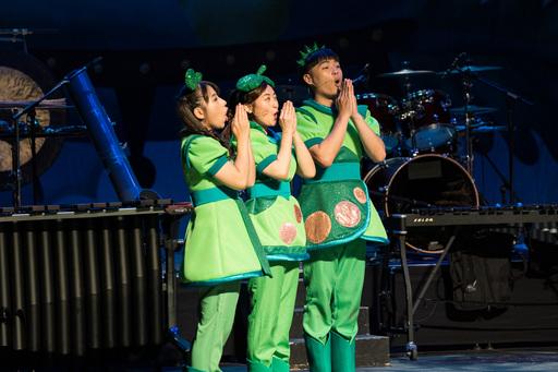 朱宗慶打擊樂團的「豆莢寶寶兒童音樂會」,已成為樂團與許多愛樂家庭每年重要的一期一會