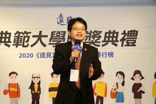 陳悅生主任秘書強調中醫大是一所重視教學的研究型大學。