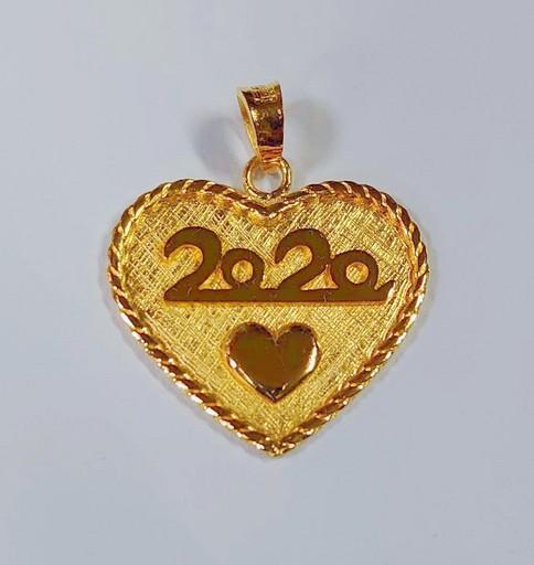 2錢2厘「愛妳愛你」黃金