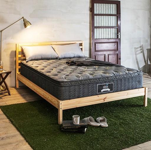 為解決現代人睡眠問題,obis推出導電紗科技乳膠獨立筒床墊