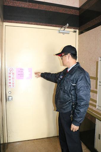\校區與附設醫院進出安全門暫停開放管制。