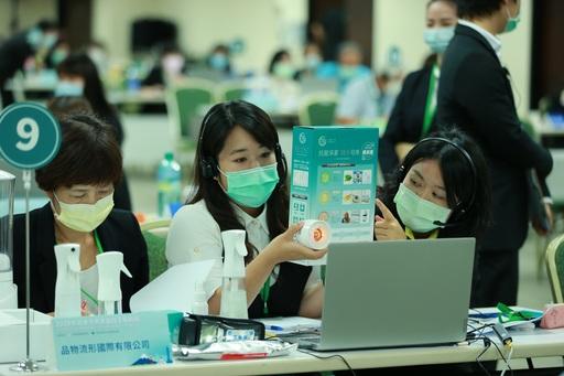 【圖2】疫情期間,抗菌產品大受歡迎。(貿協提供)