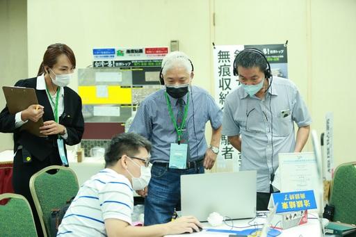 【圖1】實境秀的展示產品方式成功吸引日本買主深入洽談。(貿協提供)