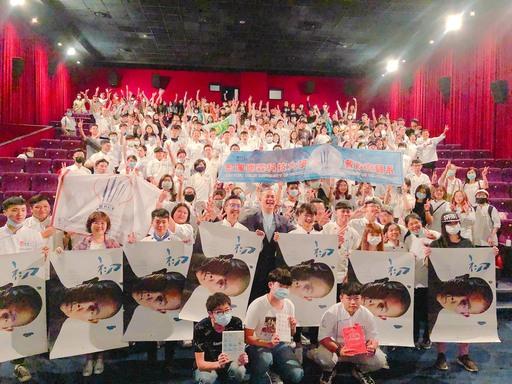 宏國德霖科大廚藝系學生於9/19(六)受邀觀賞初心電影,令許多學生充滿佩服之意,想向名廚江振誠看齊。