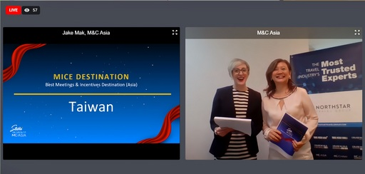 1.臺灣榮獲「2020年度亞洲最佳會議獎旅目的地獎(Best Meetings & Incentives Destination-Asia)」