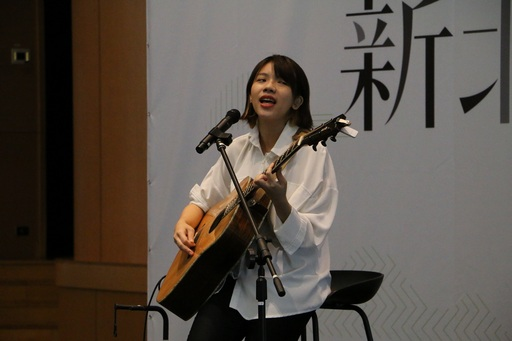 創作歌手柔米Zoomie為現場的得獎者及貴賓帶來精彩的演唱