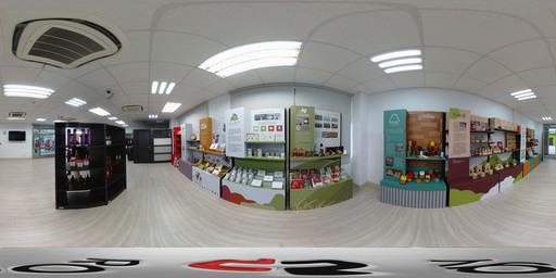 雲科大產學研大樓1F智慧展鋪地方品牌好物商店展區(360度環景).jpg
