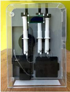 創新開發的「NT carry+仿生微載體自動裝載設備」。