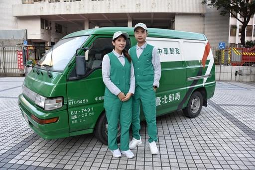 中華郵政新款郵差夏季制服/中華郵政提供