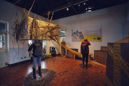 「明日部落:太魯閣之殤」在花蓮松園別館展出