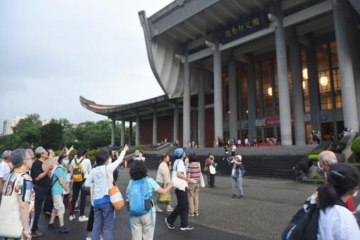 國父紀念館於去(109)年首次辦理建築導覽活動,開放報名即秒殺。