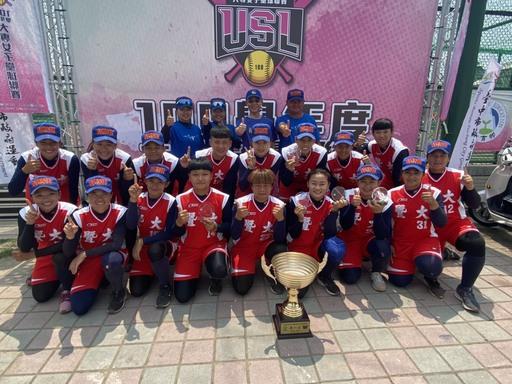 109學年度首屆大專女壘聯賽,暨大勝率100%奪冠,繼續向2022年杭州亞運邁進。