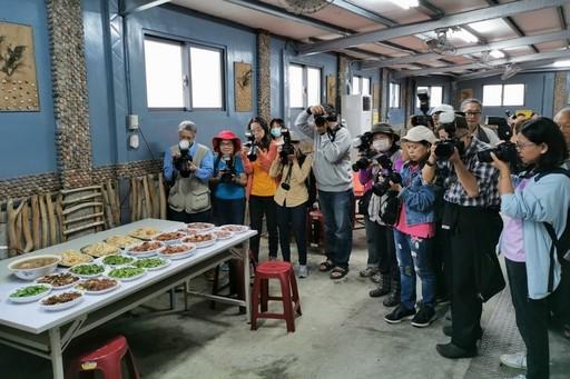 海大與內湖社大攝影班合作推廣在地特色食材