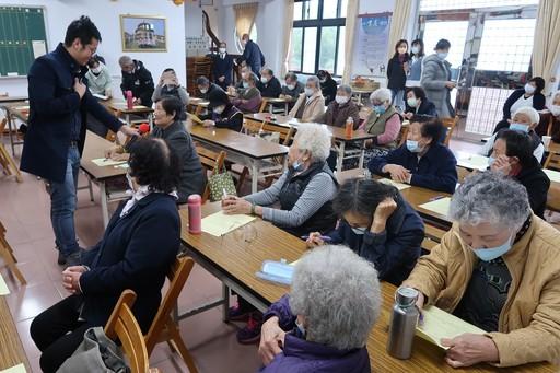 海大USR團隊於天慶堂辦理社區衛教講座