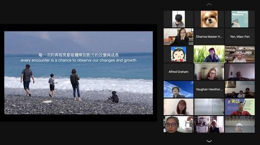 學生透過影片向世界發聲,分享自己的環保觀點。