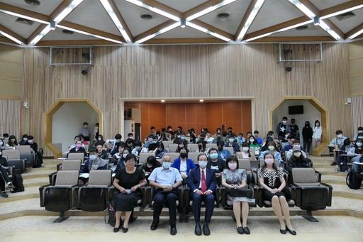 吳清基總校長與南大師生分享教育的價值與希望