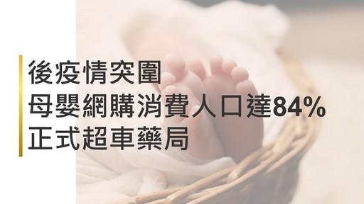 後疫情突圍 母嬰網購消費人口達84%正式超車藥局