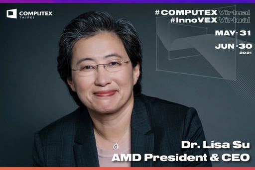 【圖說】AMD總裁暨執行長蘇姿丰博士再次受邀於2021 COMPUTEX CEO Keynote   暢談高效能運算生態系的未來發展