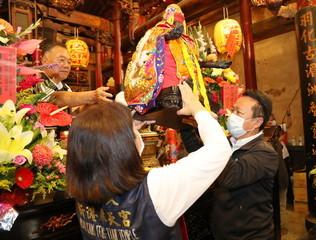 新港奉天宮媽祖駐台400週年出巡吳地、三槺榔、十八庄起駕