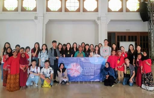 2019年亞大同學赴印尼Universitas Airlangga (UNAIR)暑期研習合影。