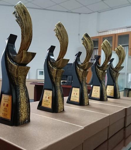 第21屆奇萊文學獎首獎獎盃