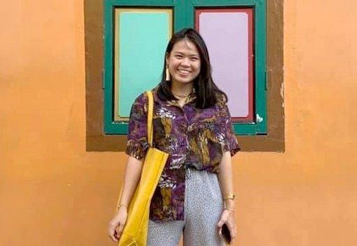 義大馬來西亞校友會會長魯馨蓮希望回饋母校,並提供更好的校友服務,凝聚校友力量。(義守大學提供)