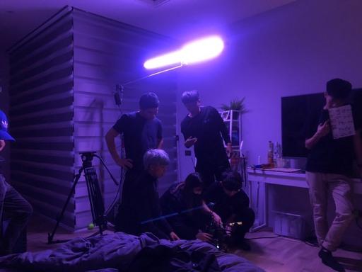 《樂園Paradise》室內拍攝情形