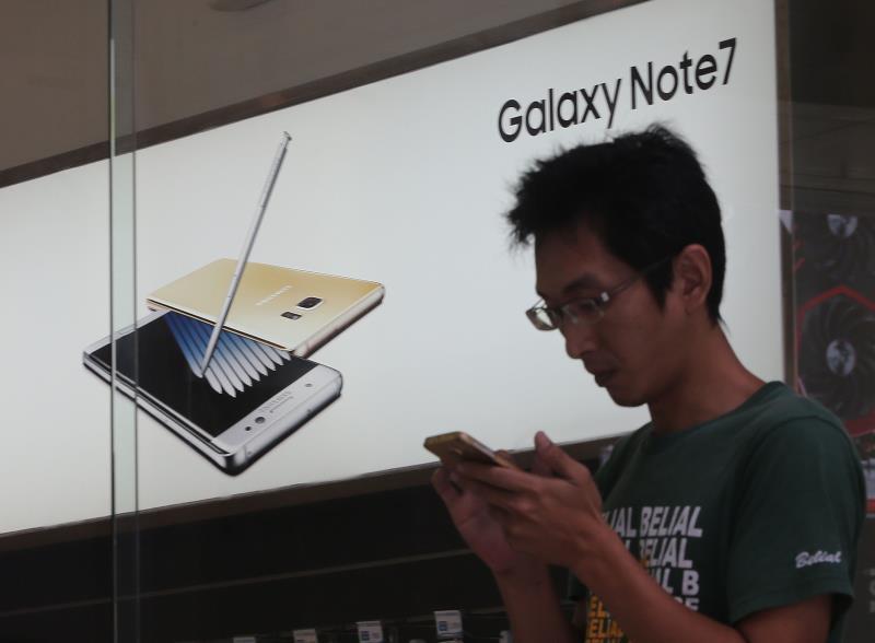 三星停產Note7,消費者可選擇退貨換購。