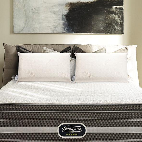 席夢思綺力枕提供【稍軟】、【適中】、【偏硬】三種軟硬度,平衡釋放壓力