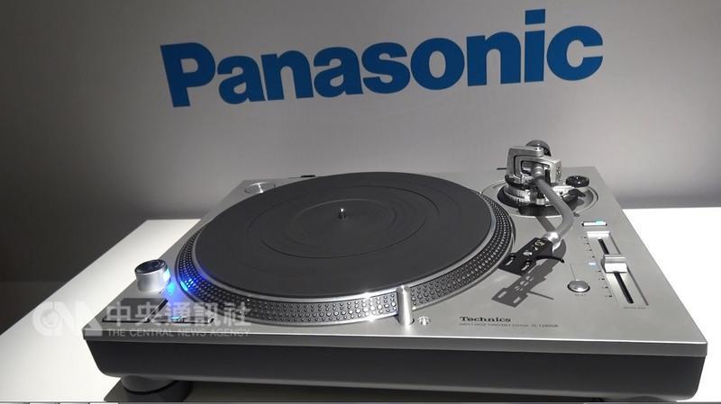 Technics SL-1200是Panasonic研發,可重現黑膠唱片 真實聲音的唱盤。 中央社記者曹宇帆拉斯維加斯攝