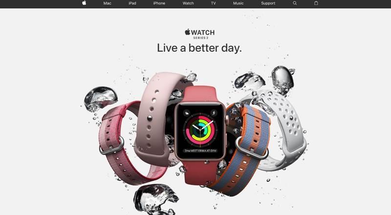蘋果iPhone 8傳出支援無線充電,未來Apple Watch也有機會參一腳。外媒報導,蘋果已開發出針對Apple Watch設計的無線充電盤,怎麼放都可以充電。(圖取自蘋果官網www.apple.com)