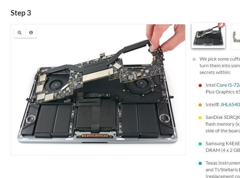 蘋果才剛推新款MacBook Pro和MacBook,ifixit馬上拆解給你看。(圖取自ifixit網頁www.ifixit.com)
