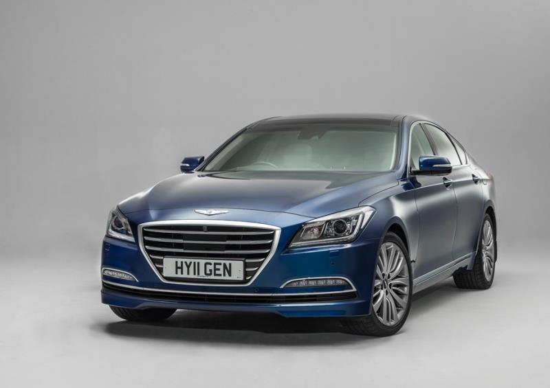 韓國豪華車品牌Genesis在歐洲不吃香