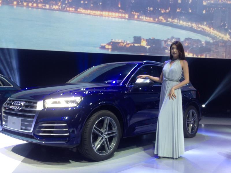 Audi Q5  232萬起 矚目登台亮相。