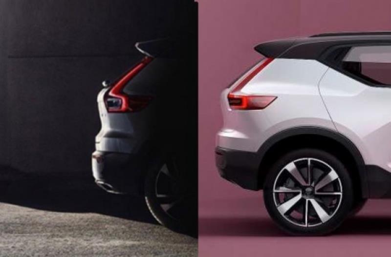 Volvo XC40釋出首張預告影像,新車將今年秋季發表?