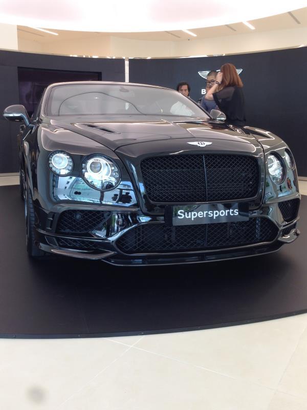 Bentley Continental Supersports 四座豪華轎跑 極致登場